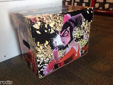 HARLEY QUINN THEMED SHORT BOXES CASE OF 5 Comic Book Storage DC Comics NEW