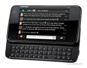 Nokia N Series N900 - 32GB - Black (Unlocked) Smartphone Operable