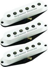 Seymour Duncan California 50's SSL-1 Single Coil Strat 3 Pickup Set White Covers