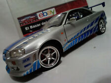 1:18 Nissan Skyline  Fast & Furious Paul Walker ...  - ERTL  3L 050