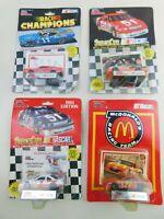 Racing Champions 1:64 NASCAR Lot Of  4 Die Cast Diecast Vintage B18