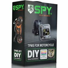 SPY TPMS Tire Tyre Pressure Monitor System Motorbike motorcycle bike Wireless
