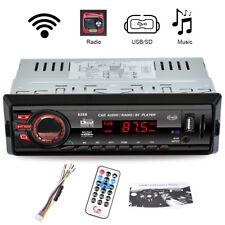 Bluetooth Car Stereo Audio In-Dash 1 Din FM AUX Input Receiver USB MP3 Radio