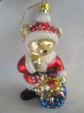 "Bear Santa Radko ? 5"" Christmas Tree Ornament"