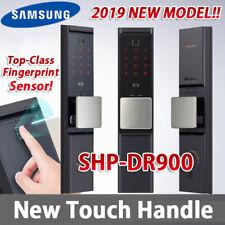 NEW SAMSUNG DIGITAL DOORLOCK FINGERPRINT SHP-DR900 Door Lock Touch handle U