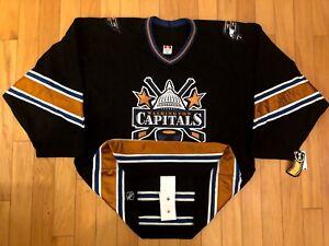 New Washington Capitals Blank Koho  Sz. 52 Authentic Hockey Jersey Fight Strap