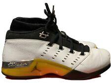 Air Jordan XVII 17 Low OG All Star White/Lightening Yellow Men's Size 10