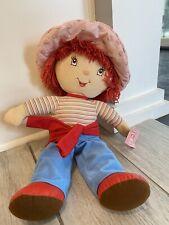 "2005 Kellytoy Large Strawberry Shortcake Plush Doll 21"" with Tags"