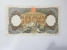 Banconota - LIRE 1000 MARINARE - A95 4512 - 20.03.1941