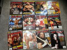 WWF WWE RAW Magazine Complete Full Year 2005 x 12 Issues  Joblot bundle