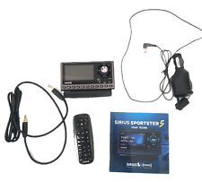 Sirius Sp5 Sportster 5 Car Satellite Radio Receiver Accessories Remote
