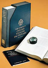 The Compact Oxford English Dictionary: v. 1-20 in 1v by Oxford University Press (Hardback, 1991)