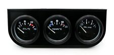 Kit relojes presion aceite + temperatura de agua + voltimetro 52mm universal
