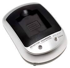 Akkuladegerät für Pentax D-Li8 D-Li85 D-Li95 und Fujifilm NP40 Akkus