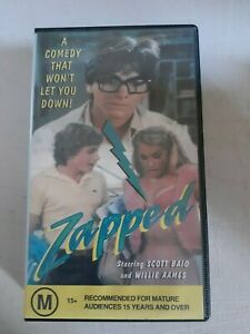 Zapped VHS Video - CEL - Teen Comedy