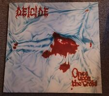 Deicide-Once Upon The Cross Vinyl (Roadrunner #2011 RRCAR8949-1)