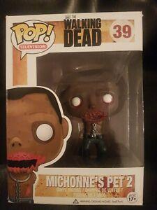 Funko POP The Walking Dead Michonne's Pet 2 #39