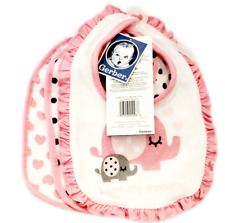 Gerber Baby Girl 3-Pack Pink Polka Dots/Hearts - Baby Clothes Shower Gift
