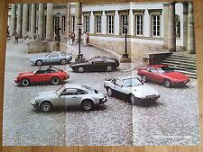 1980 Porsche Catalog 911SC 928 911 SC Coupe Targa 924 Turbo Sale Brochure Poster