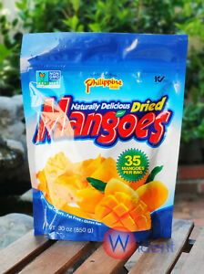Philippine Brand Dried Mangoes 30 oz