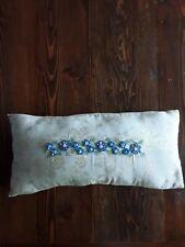 APRIL CORNELL Rectangular Pillow BEADED for Cornell Trading