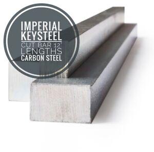 "Key steel Imperial 12"" Lengths Profiles BS46  1/16"" To 2"" Keysteel"