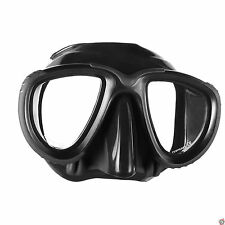 Mares Tana Mask Scuba, Dive, Snorkeling, Freediving, Spearfishing, Black