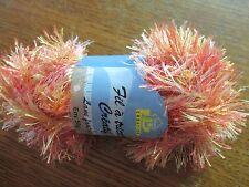 pelote fils fourrure chiné neuve