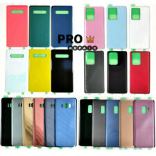 Glass Rear Door Battery Cover For Samsung Galaxy S7 S8 S9 S10 S10e S20 S21