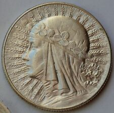 Poland 5 Zlotych, 1933, Queen Jadwiga, silver
