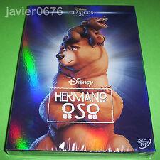 HERMANO OSO CLASICO DISNEY NUMERO 45 DVD NUEVO Y PRECINTADO SLIPCOVER