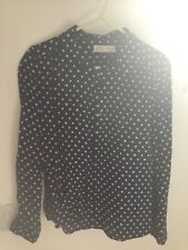 Zara Navy Patterned Shirt Size 11/12 years