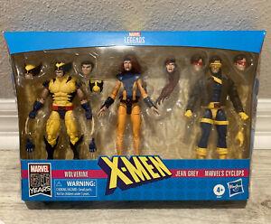 Marvel Legends X-Men Love Triangle 3-Pack Wolverine Jean Grey Cyclops NIB Hasbro