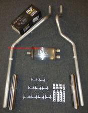 04-08 Dodge Dakota Mandrel Bent Dual Exhaust w/ MagnaFlow Muffler