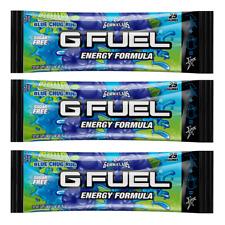 G Fuel Energy Formula Sour Blue Chug Rug 1 Single Serving Packet Gfuel FaZe Rug