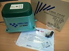 Hiblow HP 100 Air Compressor for Sewage or Pond Aeration (Free 24 hour delivery)