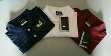 3 Nike Golf Polo Men's Size Small 1Team Red, 1Navy w/strpesi 1 White New Nice!