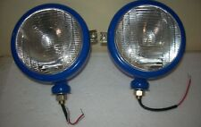 Ford Tractor Head Light Set Blue color (LH + RH) - 12 V