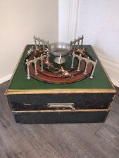 Antique Jeu De Course Horse Racing Gambling Game, circa 1880's