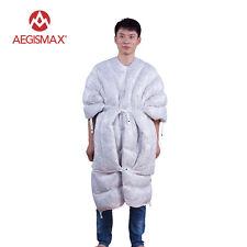 AEGISMAX Outdoor Winter Ultralight 850FP Goose Down 290g Filling Sleeping Bag
