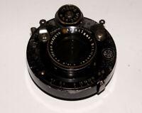 Rare Brillantar Anastigmat 4.5/10.5cm lens Gauthier shutter 6x9 cm cameras