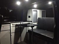 Rock and Roll Bed. 3/4 width. Transporter. Transit.Vito. Bongo. Camper cushions.