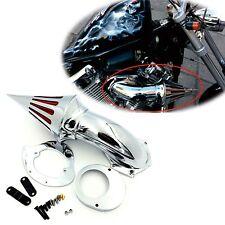 Air Cleaner Kits intake for Yamaha Vstar V-Star 650 all year 1986-2012 CHROME