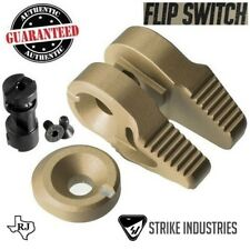 Strike Industries FLIP SWITCH Ambi Safety Ambidextrous 60 90 degree + Cap FDE
