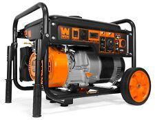 WEN GN6000 6000-Watt RV-Ready Portable Generator with Wheel Kit, CARB Compliant