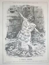 Uk Punch Gutter Press caricature Bernard Partridge 1910