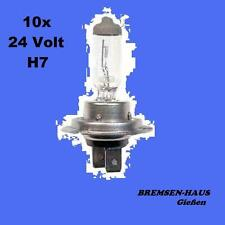 10x Birne/Lampe Scheinwerfer 24V 70W / H7 / PX26d