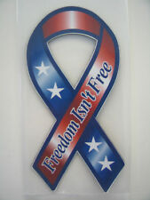 Freedom Isn't Free Magnetic Decal, Patriotic  #RI02