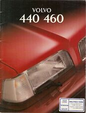 Volvo 440 & 460 1994-95 UK Market Sales Brochure S Si SE GLT CD