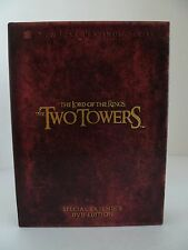 LORD OF THE RINGS Special Extended Edition DVD Two Towers 4 Disc Set